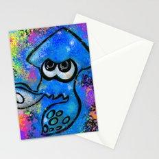I've Got an Inkling - Blue on Black Stationery Cards
