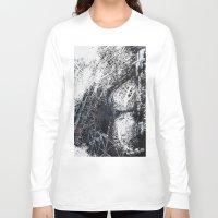 paris map Long Sleeve T-shirts featuring Paris Map by Nicolas Jolly