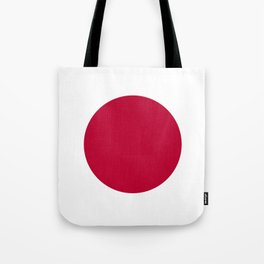 Flag of Japan, High Quality Image Tote Bag