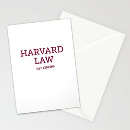 Harvard Law Stationery Cards