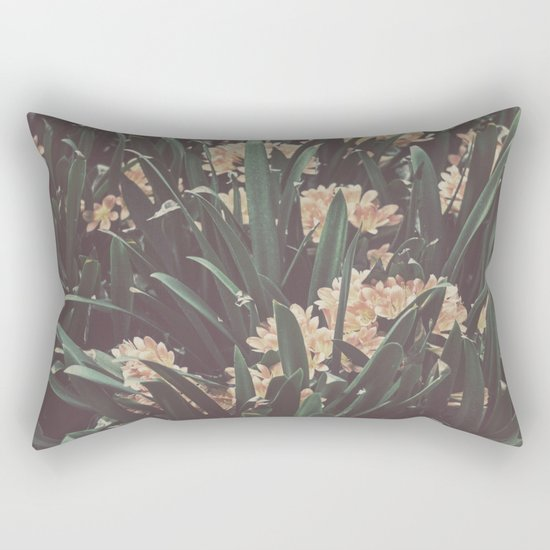 Jungle Blooms Rectangular Pillow