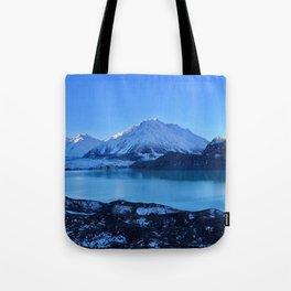 Tasman Glacier Valley Tote Bag