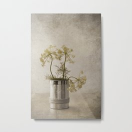 Dill in the can Metal Print