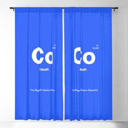 Cobalt Blackout Curtain