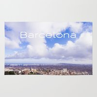 barcelona Area & Throw Rugs featuring Barcelona by LaiaDivolsPhotography