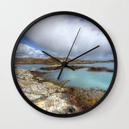 Rodel, Isle of Harris Wall Clock