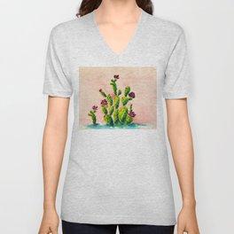 The Cactus Patch Unisex V-Neck