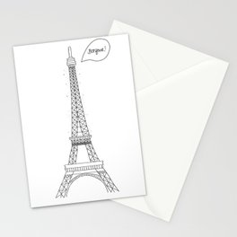 Bonjour Paris! Stationery Cards