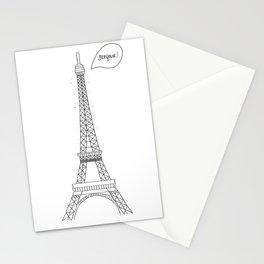 Bonjour Paris! Stationery Cards