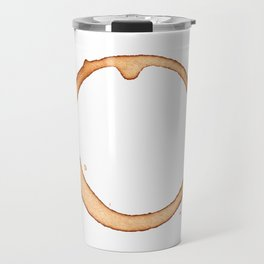 Vector coffee ring Travel Mug