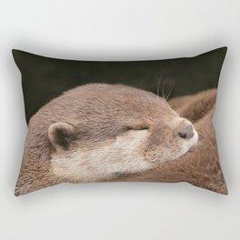 Otterly Magic Rectangular Pillow