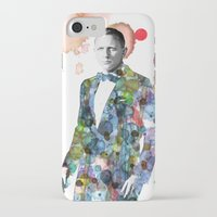 james bond iPhone & iPod Cases featuring Bond, James Bond by NKlein Design
