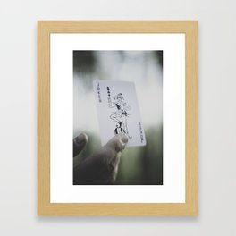 Want to Play? Framed Art Print