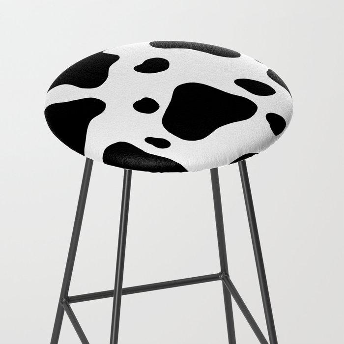 Cow Hide Bar Stool