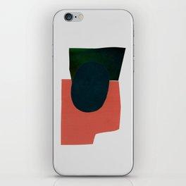 minimalist collage 05 iPhone Skin