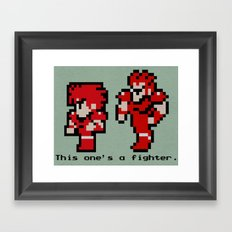 This One's A Fighter Framed Art Print