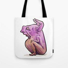 Haunch Watcher Tote Bag
