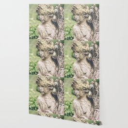 Cupid Love Statue Photograph Wallpaper