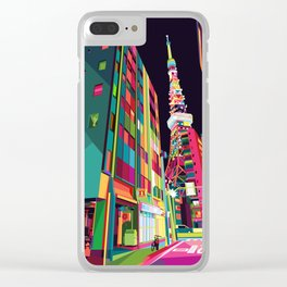 Tokyo Street Clear iPhone Case