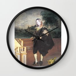 Portrait of the Artist as a Young Man Wall Clock