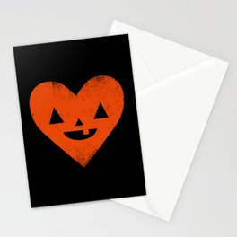 I Heart Halloween Stationery Cards