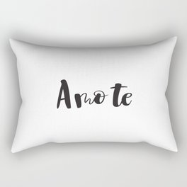 I Love You in Portuguese Rectangular Pillow