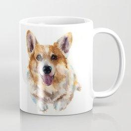 Corgi painting, watercolor Corgi, dog paintings, dog breed mugs, dog breed pillows Coffee Mug
