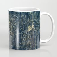 cinema Mugs featuring ENGRAVE CINEMA by AMULET