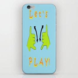 ASL Let's PLAY! iPhone Skin