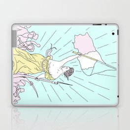 Liberty leading the people pop Laptop & iPad Skin