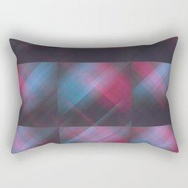 Laser Plaid Rectangular Pillow