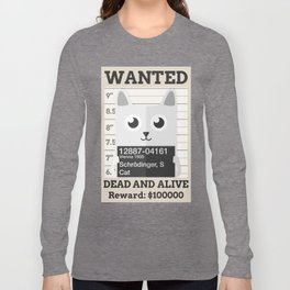 Schrödingers Cat Long Sleeve T-shirt