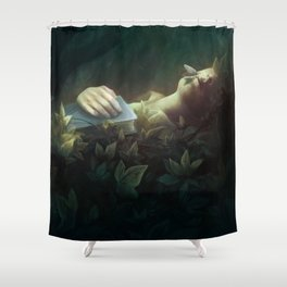 The Exquisite Corpse Shower Curtain