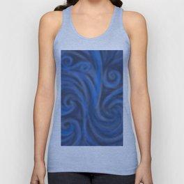 Blue Swirl Unisex Tank Top