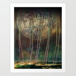 Atlante 13-06-16 / STAIRS Art Print