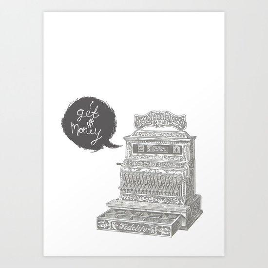 cash register Art Print