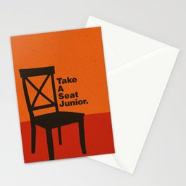 Take A Seat Stationery Cards