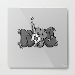 One Eyed King #Nope Metal Print