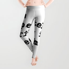 Desperately, terribly in love - Fitzgerald quote Leggings