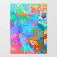 candy Canvas Prints featuring Candy by Amy Sia