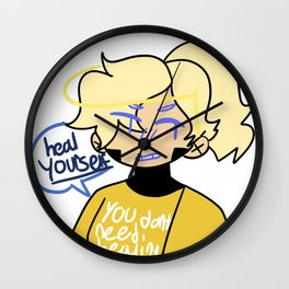 Mercy's FUCKING pissed!! Wall Clock