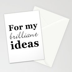 for my ideas Stationery Cards