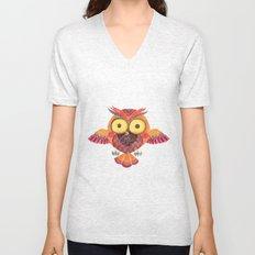 The Outstanding Owl Unisex V-Neck