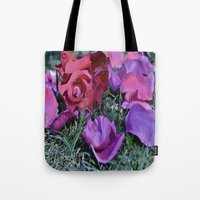 valentines Tote Bags featuring Valentines  by Natalie Snowdon
