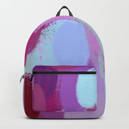 Too inspired to be tired - inspiration and pattern. Backpack