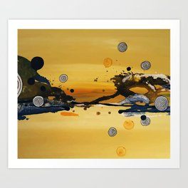 let the sun shine Art Print