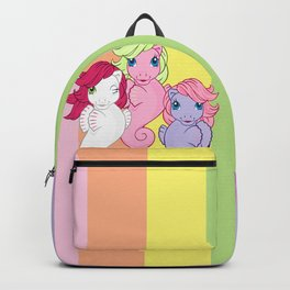 g1 my little pony sea ponies Backpack