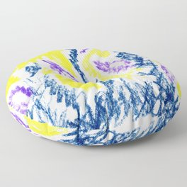 small leaves Floor Pillow