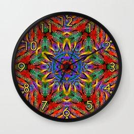 Spiral Regeneration Wall Clock