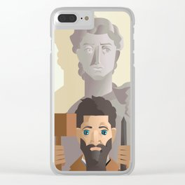great sculture and renaissance artist Clear iPhone Case